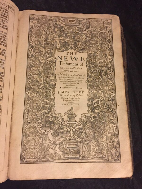 1611 King James Bible - INSIGHT OF THE KING