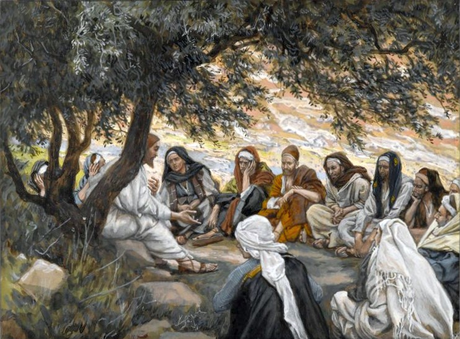 Tissot exhortation to the apostles